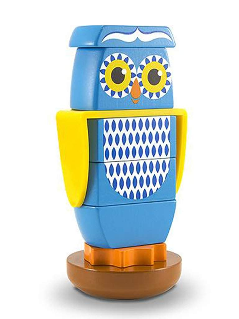 Wooden Owl Stacker Toddler Toy by Melissa & Doug - My100Brands