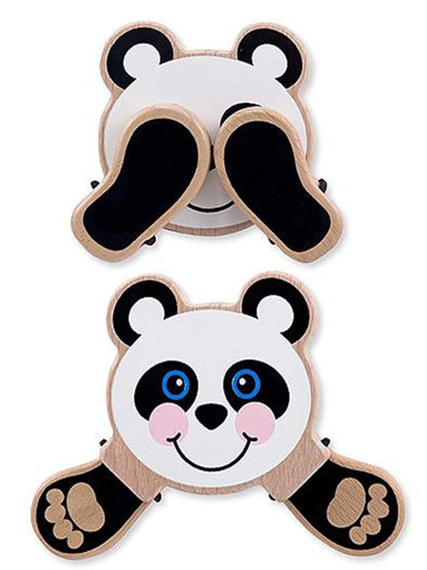 Peek-a-Boo Panda Baby and Toddler Toy by Melissa & Doug - My100Brands