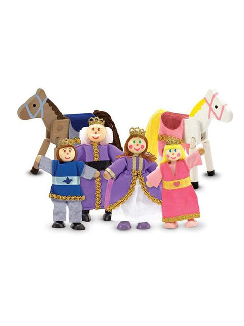 Royal Family Wooden Doll Set by Melissa & Doug - My100Brands