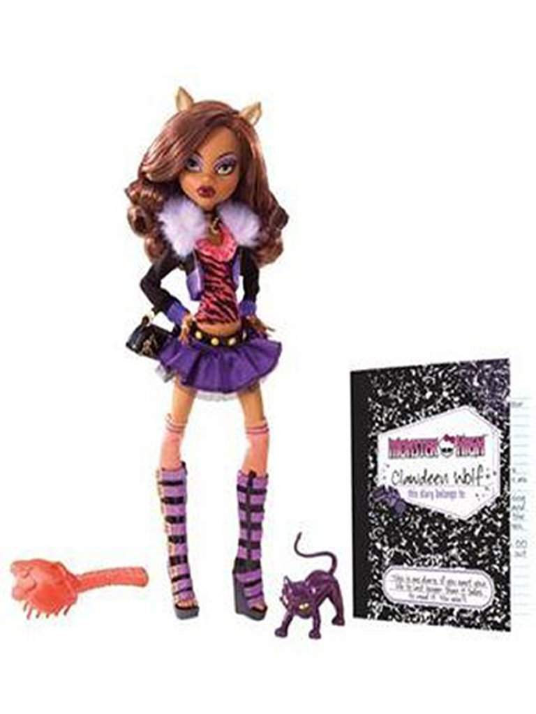 Monster High Clawdeen Wolf Doll by Mattel by Monster High - My100Brands