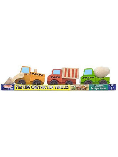 Stacking Construction Vehicles by Melissa & Doug - My100Brands