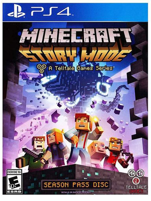 Minecraft Story Mode for PS4 by Minecraft - My100Brands