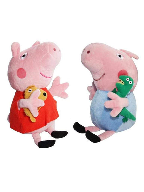 "8"" Plush Doll Stuffed Toys Peppa and George For Kids - 2 Piece by Peppa Pig - My100Brands"