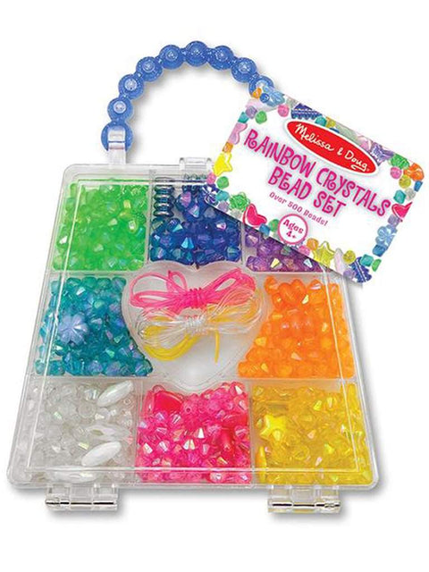 Rainbow Crystals Bead Set by Melissa & Doug - My100Brands