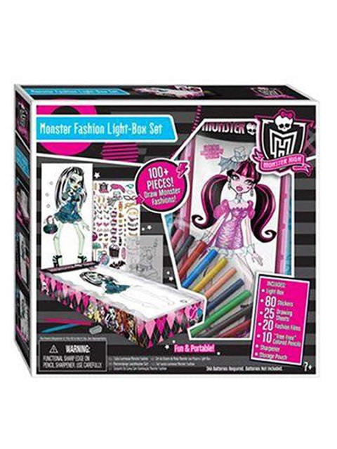 Fashion Angels Monster High Fashion Light-Box Set by Monster High - My100Brands