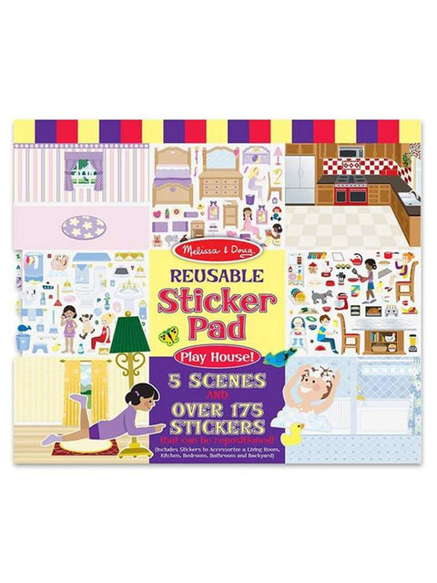 Melissa & Doug Play House! Reusable Sticker Pad by Melissa & Doug - My100Brands