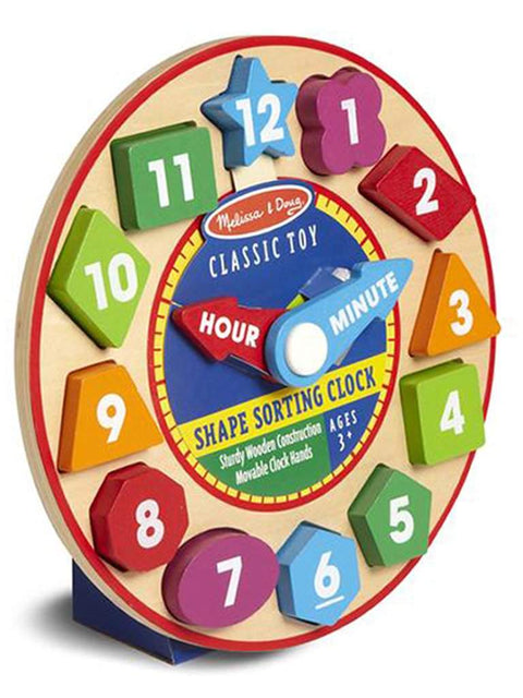 Shape Sorting Clock by Melissa & Doug - My100Brands