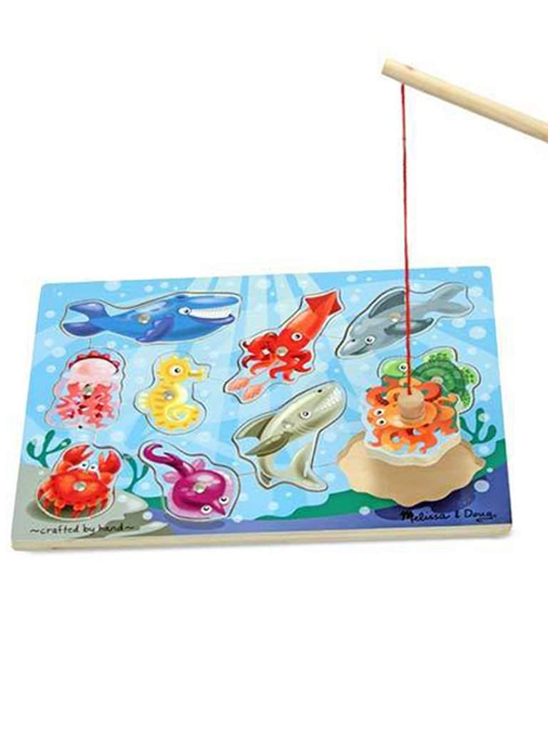 Fishing Magnetic Puzzle Game by Melissa & Doug - My100Brands