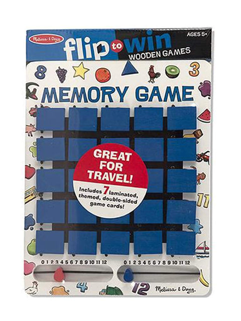 Flip-to-Win Memory Game by Melissa & Doug - My100Brands