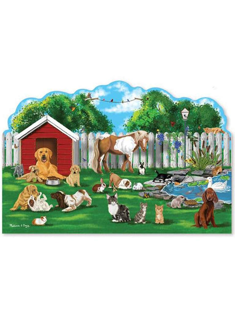 Pet Party Shaped Puzzle - 32 Pieces by Melissa & Doug - My100Brands