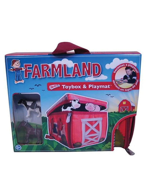 Neat-Oh ZipBin Farmland Mini 40 Animal Tote w/ 2 Toys by Neat-Oh! - My100Brands