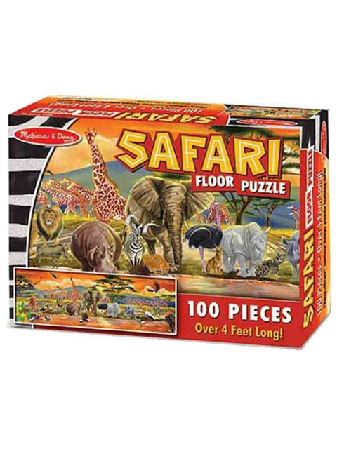 Safari Floor Puzzle - 100 Pieces by Melissa & Doug - My100Brands