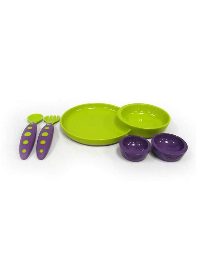 Boon Groovy Interlocking Plate and Modware by Boon - My100Brands
