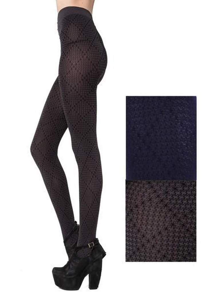 fa7a35014 Lady s Hoothstooh Classic Design Fashion Tights by My100Brands - My100Brands