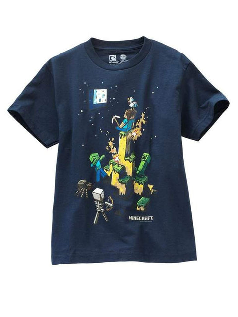 Boy's Minecraft Tight Space Tee by Minecraft - My100Brands