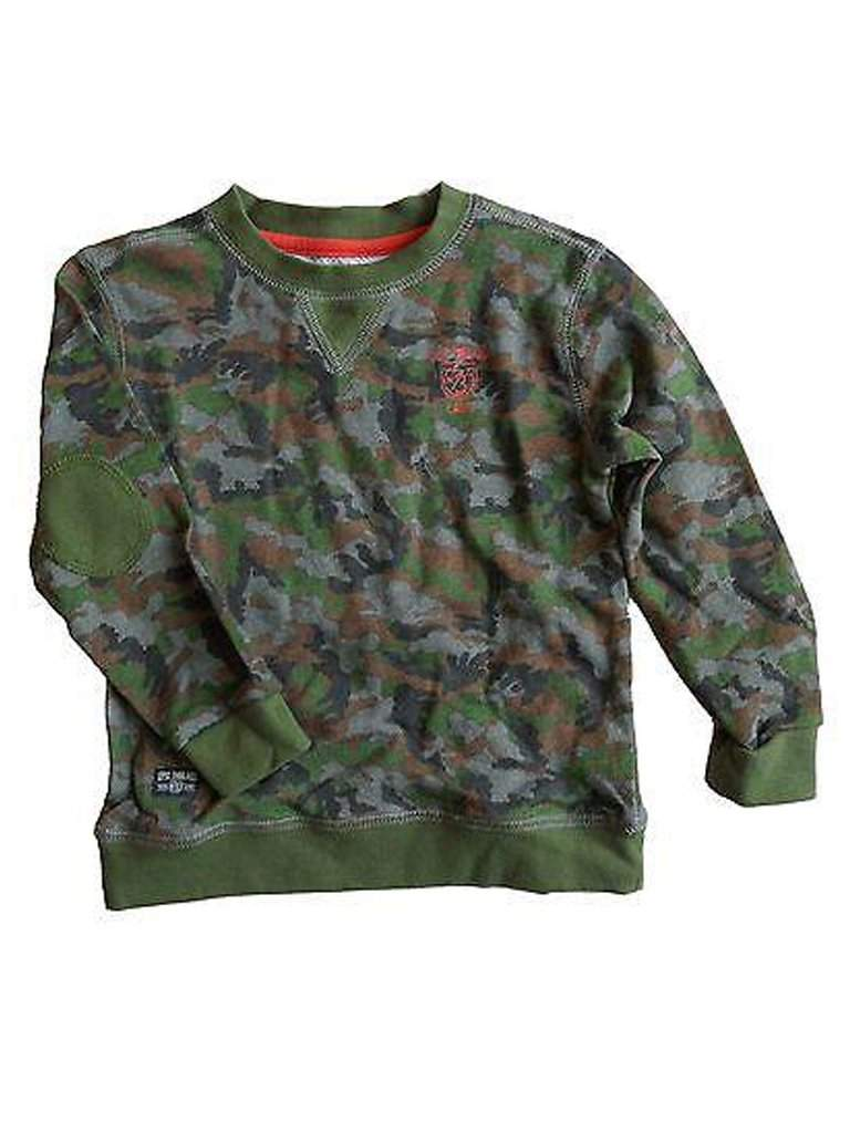 Boy's Camouflage Sweatshirt by My100Brands - My100Brands