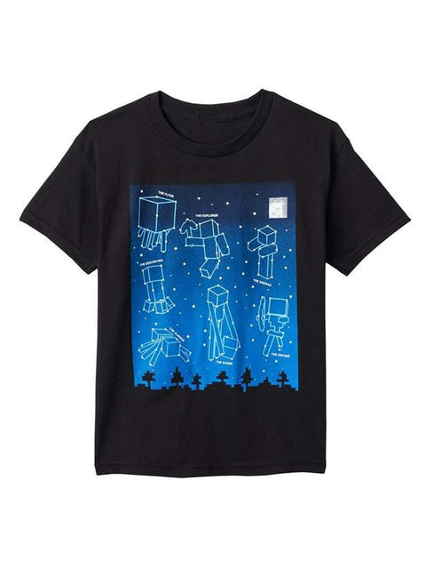 Boy's Minecraft Glow-in-the-Dark Tee by Minecraft - My100Brands