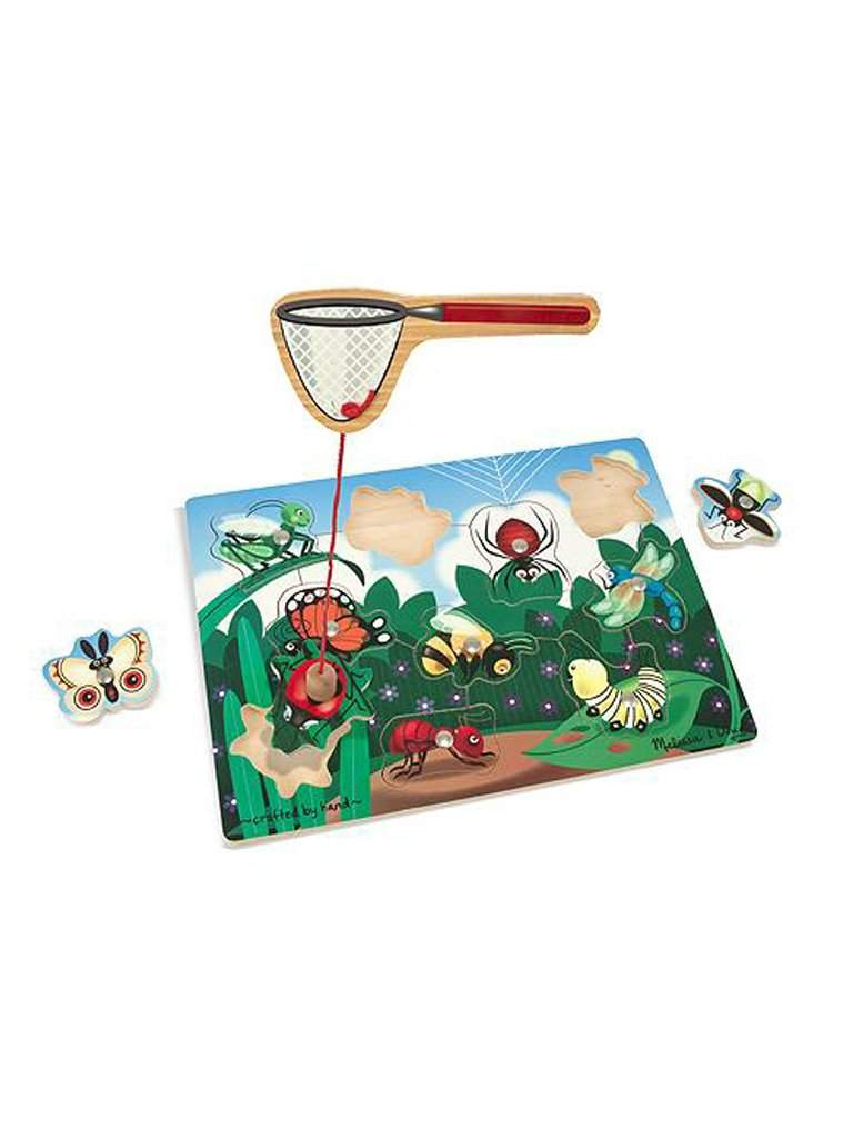 Bug-Catching Magnetic Puzzle Game by Melissa & Doug - My100Brands