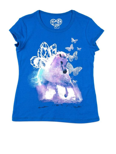 Belle Du Jour Girl's Graphic Tee by Belle Du Jour - My100Brands