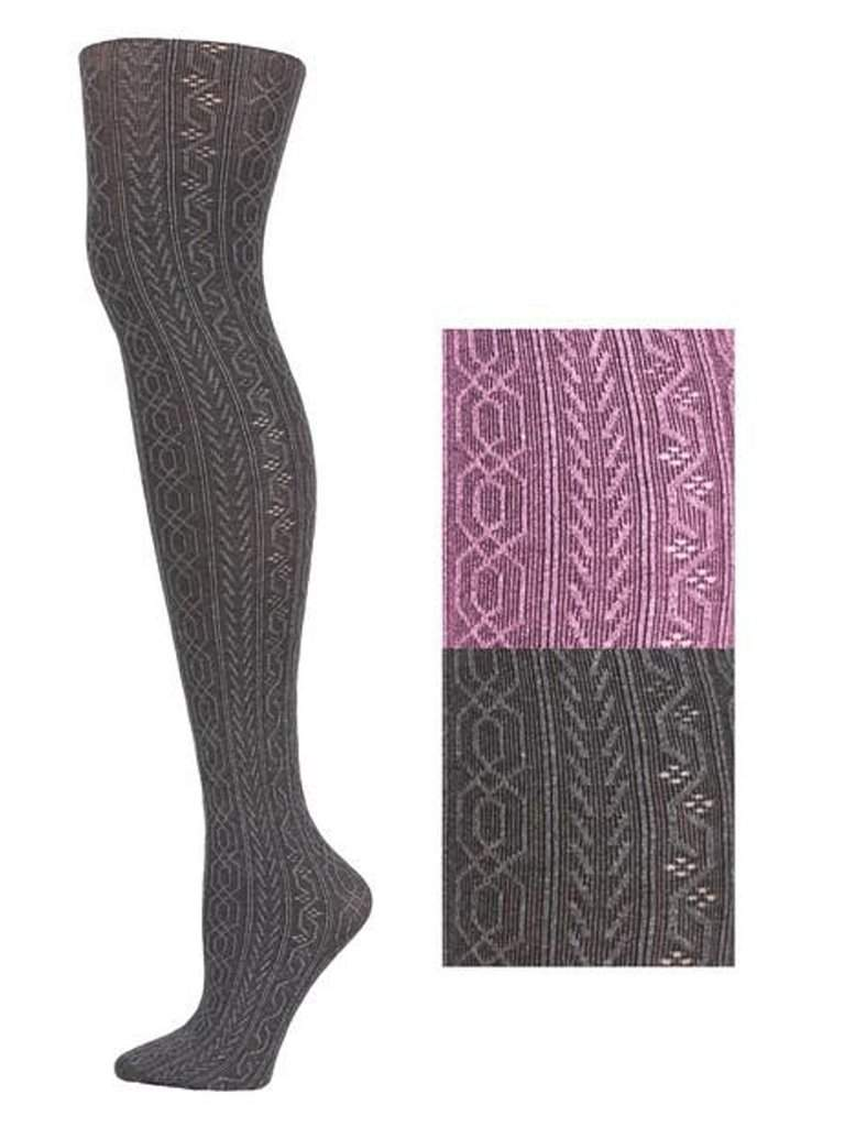 Lady's Atlantean Design Fashion Tights by My100Brands - My100Brands