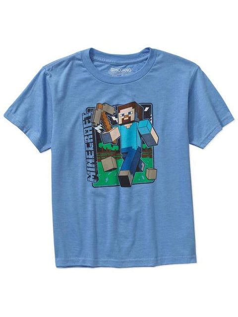 Boy's Minecraft Vintage Steve Tee by Minecraft - My100Brands