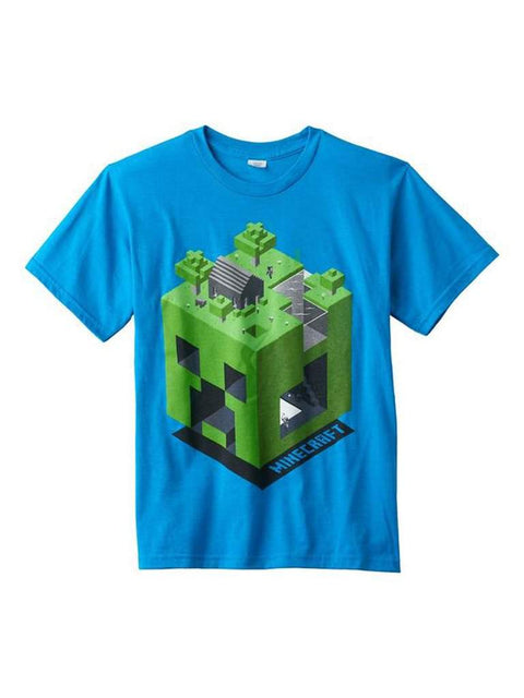 Boy's Minecraft Creeper Dimension Tee by Minecraft - My100Brands