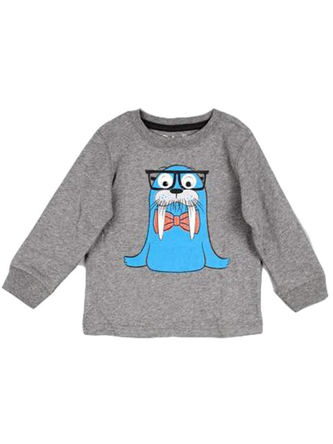 Boy's Googly Eye Walrus Tee by My100Brands - My100Brands
