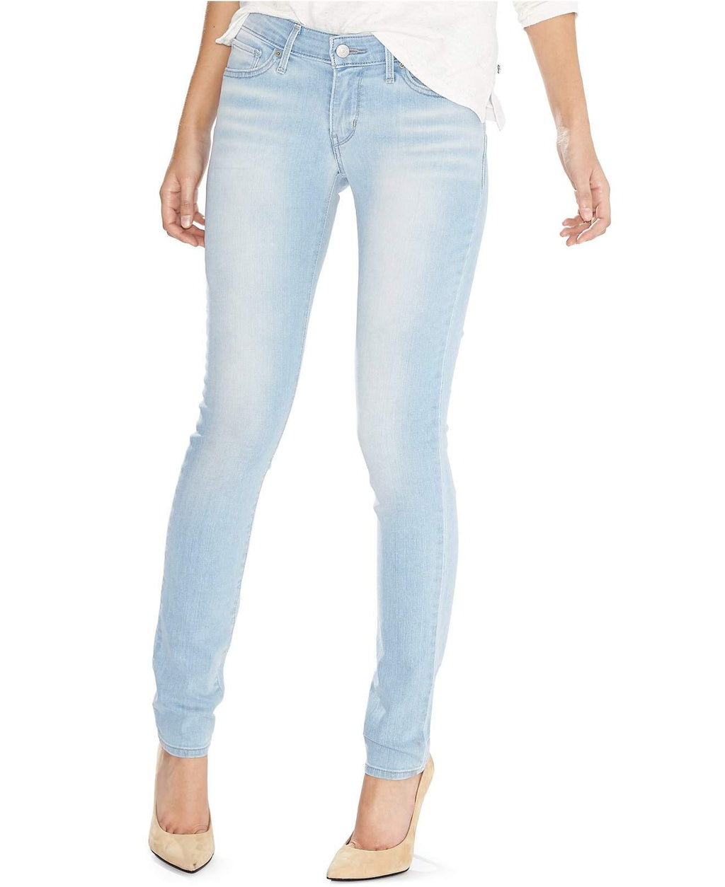 Levi's Tan 811 Curvy Skinny Jeans by Levi's - My100Brands