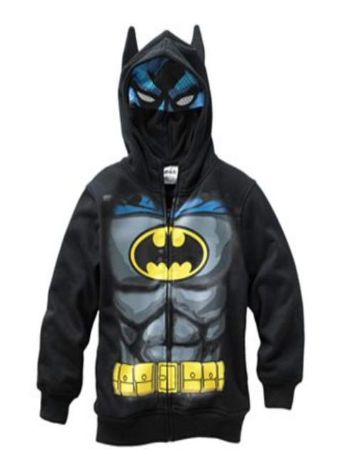 Batman Costume Boys' Hoodie by Batman - My100Brands
