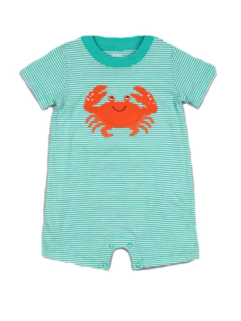 Carter's Baby Boy Crab Aplique Romper by Carters - My100Brands