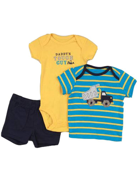 Carter's Daddy's Tough Guy 3-Pc Set by Carters - My100Brands