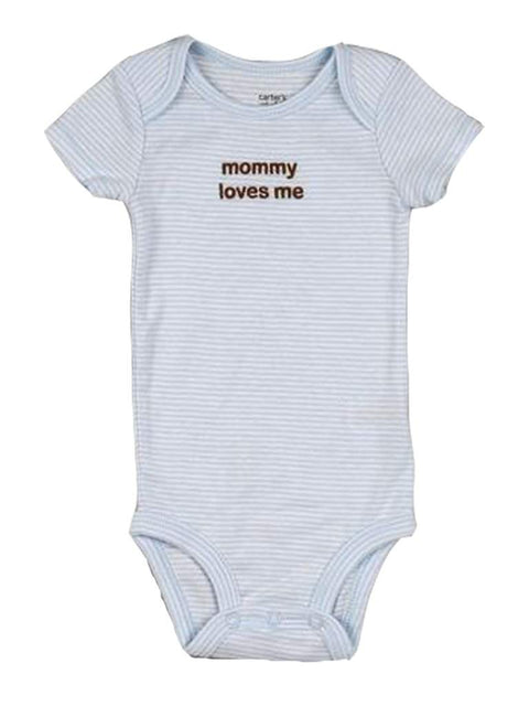 Carter's Baby Boy Mommy Loves Me Bodysuit by Carters - My100Brands