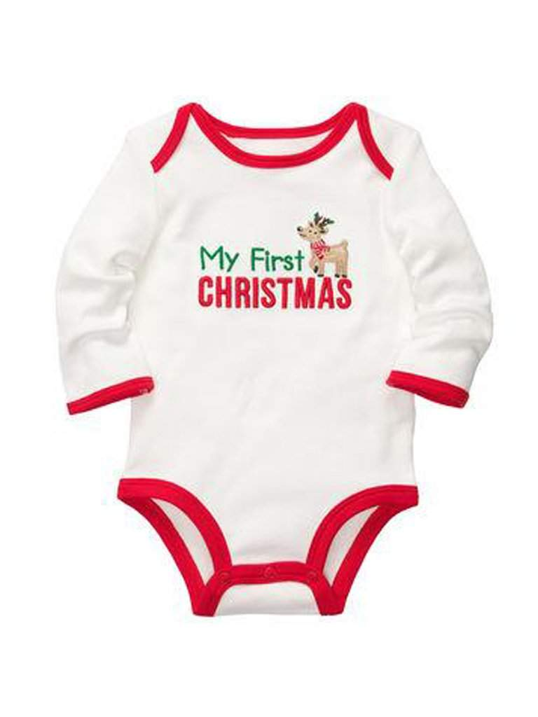 Carter's My First Christmas Bodysuit by Carters - My100Brands
