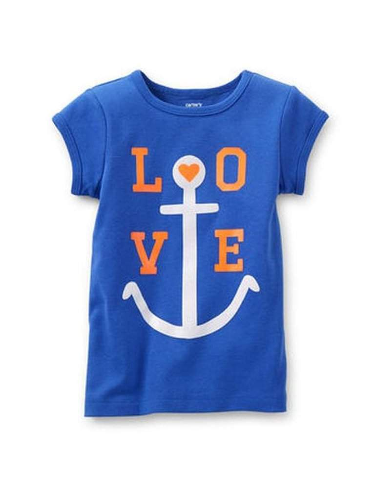Carter's  Love Anchor Tee by Carters - My100Brands