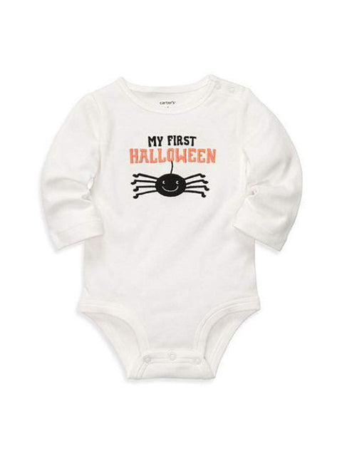 Carter's My First Halloween Spider Long Sleeve Bodysuit by Carters - My100Brands