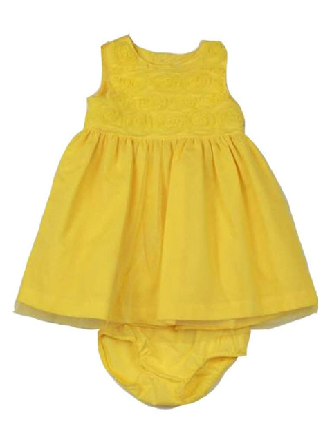Carter's Baby Girl Yellow Flower Dress by Carters - My100Brands