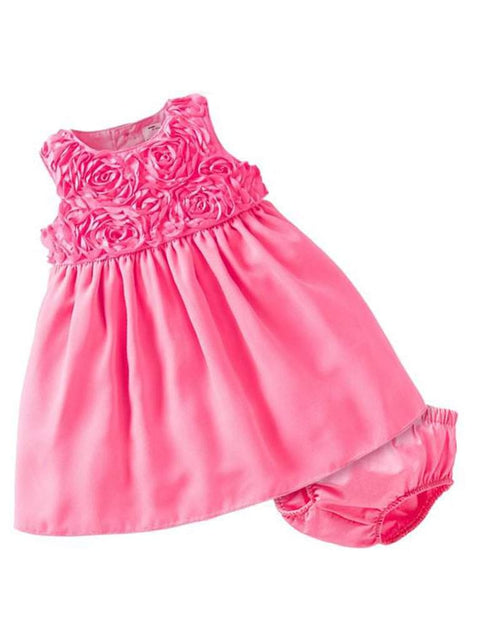 Carter's Baby Girl Special Occassion Rosette Dress Set by Carters - My100Brands
