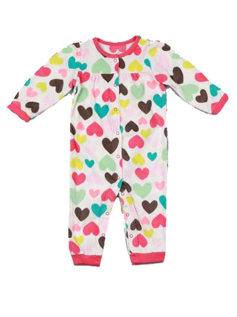 Carter's Baby Girl Microfleece Jumpsuit by Carters - My100Brands