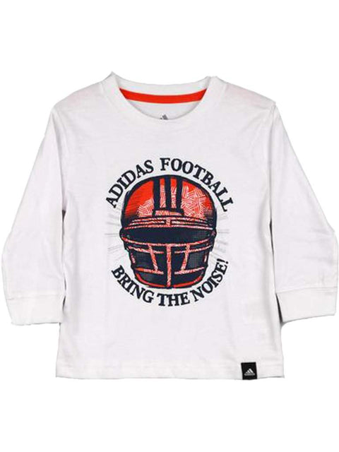 Adidas Football Bring the Noise Long Sleeve Tee by Adidas - My100Brands