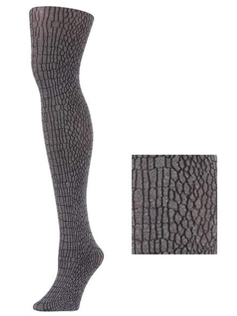 Lady's Gator Print Fashion Tights by My100Brands - My100Brands