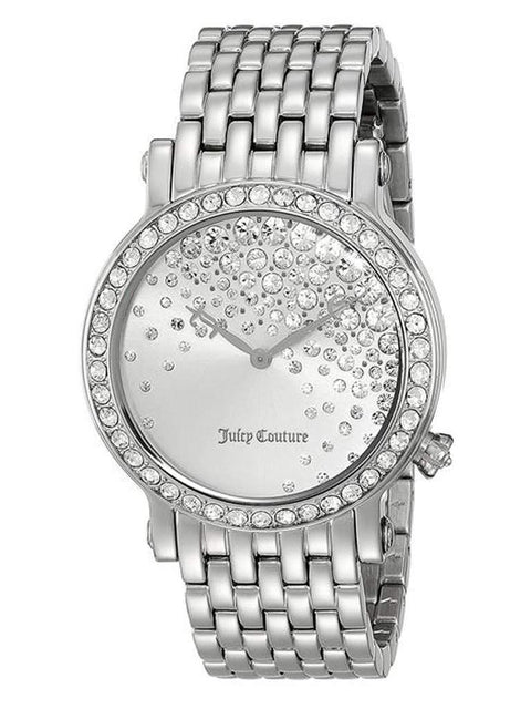 Juicy Couture La Luxe Analog Display Quartz Silver Watch by Juicy Couture - My100Brands