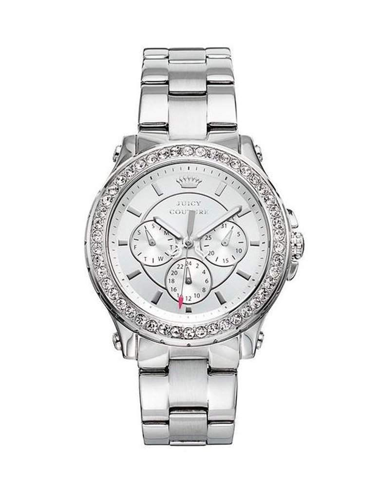 Juicy Couture Pedigree Crystal Stainless Steel Women's Watch by Juicy Couture - My100Brands