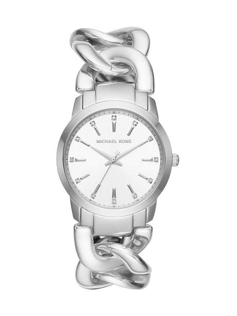 Michael Kors Women's Elena Stainless Steel Chain Bracelet Watch by Michael Kors - My100Brands