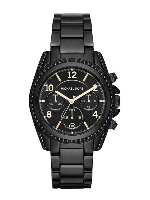 Michael Kors Blair Black Dial Chronograph Women's Watch by Michael Kors - My100Brands