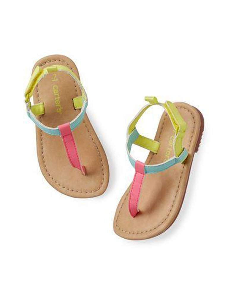 Carter's Bright T-Strap Sandals by Carters - My100Brands