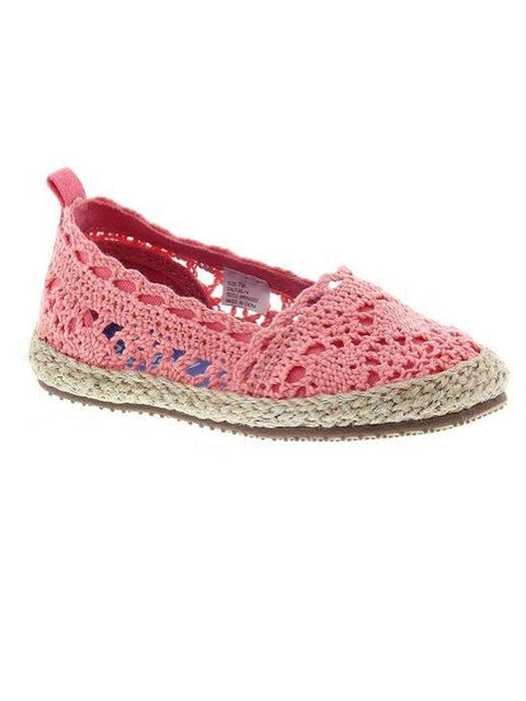 OshKosh B'Gosh Salt Espadrille Flats by OshKosh B'gosh - My100Brands