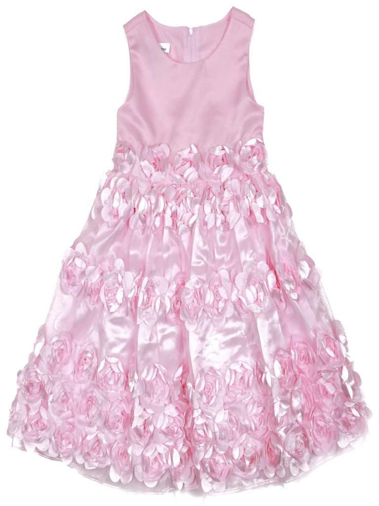 Bonnie Jean Girl's Pink Flower Dress by Bonnie Jean - My100Brands