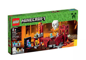 Lego Minecraft 21122 The Nether Fortress-My100Brands