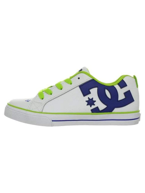 DC Court Graffik Vulcanized Skate Kid's Shoes by DC - My100Brands