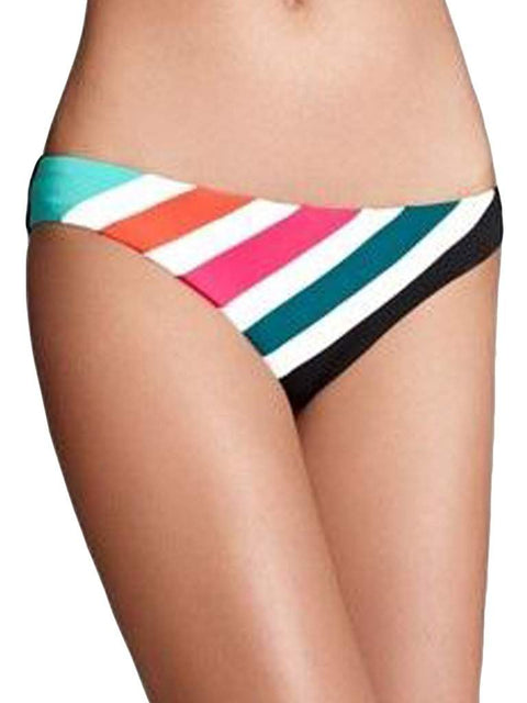 Rebecca Virtue Hot Off Press Chevron Bikini Bottom by My100Brands - My100Brands